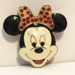 Vintage Minnie Mouse Pin Brooch Disney Mickey